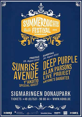 Deep Purple Sigmaringen 2015