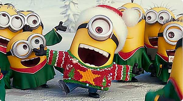 weihnachten-minions